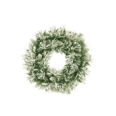 Fir Christmas Wreath Snow  ] 9328684194213 - Flower Power