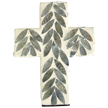 Sari Inlay Cross Grey  ] 9330049394626P - Flower Power