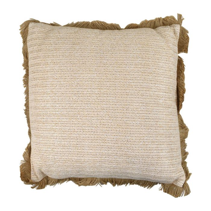 Arusi Alfresco Natural Cushion  ] 9330049396866 - Flower Power