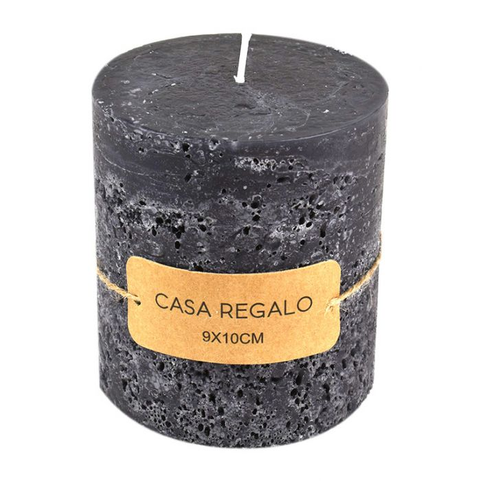 Earth Pillar Charcoal Candle  ] 9330049410999P - Flower Power
