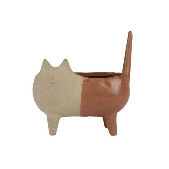 Clara Cat Planter  ] 9330049419701 - Flower Power