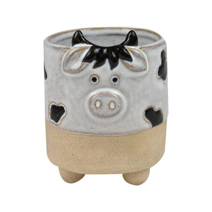 Clarrie Cow Planter  ] 9330049419978 - Flower Power