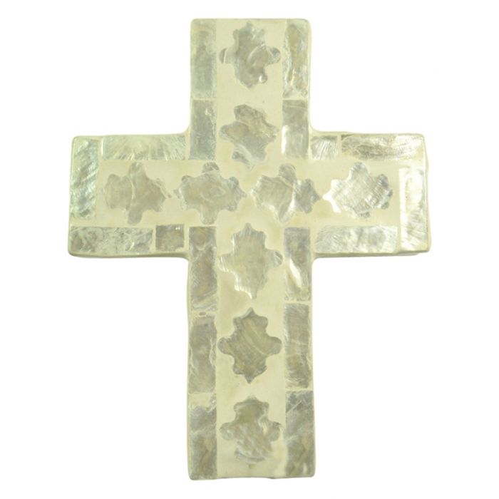 Cheyenne Inlay Cross Ivory  ] 9330049428536P - Flower Power
