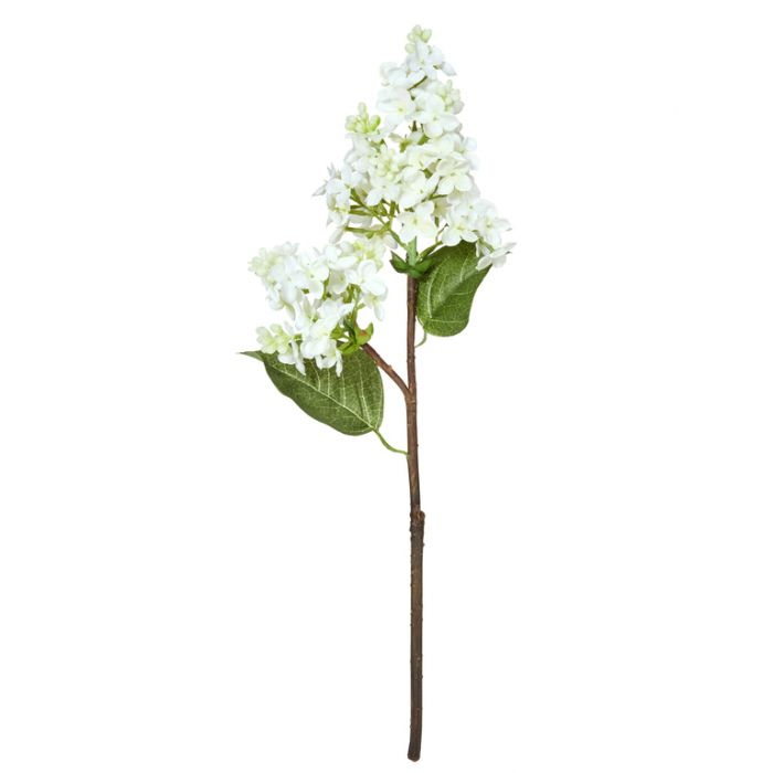 Artificial Lilac Pick White  ] 9331460250874 - Flower Power