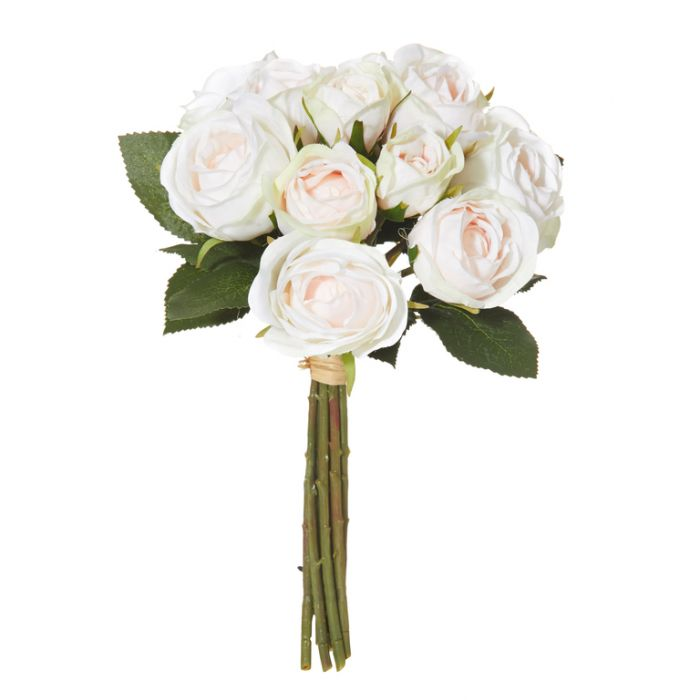 Artificial Bouquet Mini Rose Pink  ] 9331460260422 - Flower Power