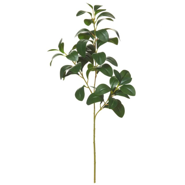 Artificial Lush Leaves Spray Green  ] 9331460277154 - Flower Power