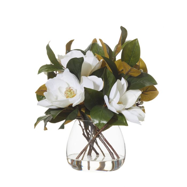 Artificial Magnolia Mix Vase  ] 9331460287474 - Flower Power