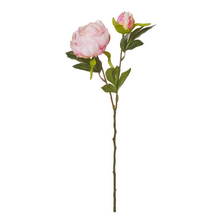 Artificial Peony Pick Pink  ] 9331460296926 - Flower Power