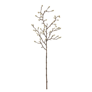 Artificial Magnolia Bud Spray  ] 9331460297374 - Flower Power