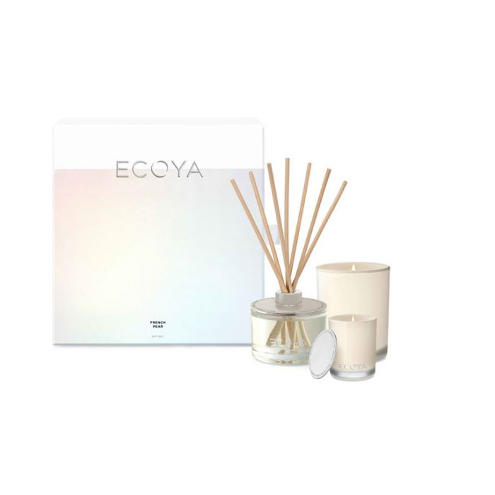 Ecoya French Pear Gift Set  ] 9336022011085 - Flower Power