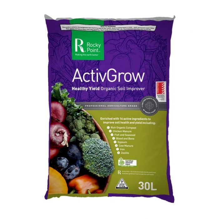 Rocky Point Organic ActivGrow  ] 9338456000017P - Flower Power