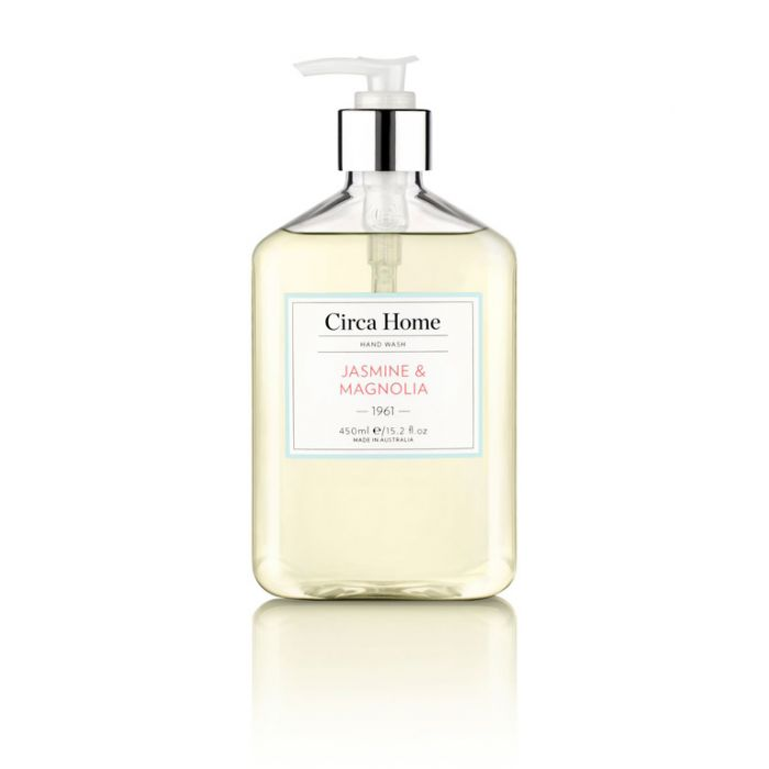 Circa Home 1961 Jasmine & Magnolia Nourishing Hand Wash 450ml  ] 9338817004524 - Flower Power