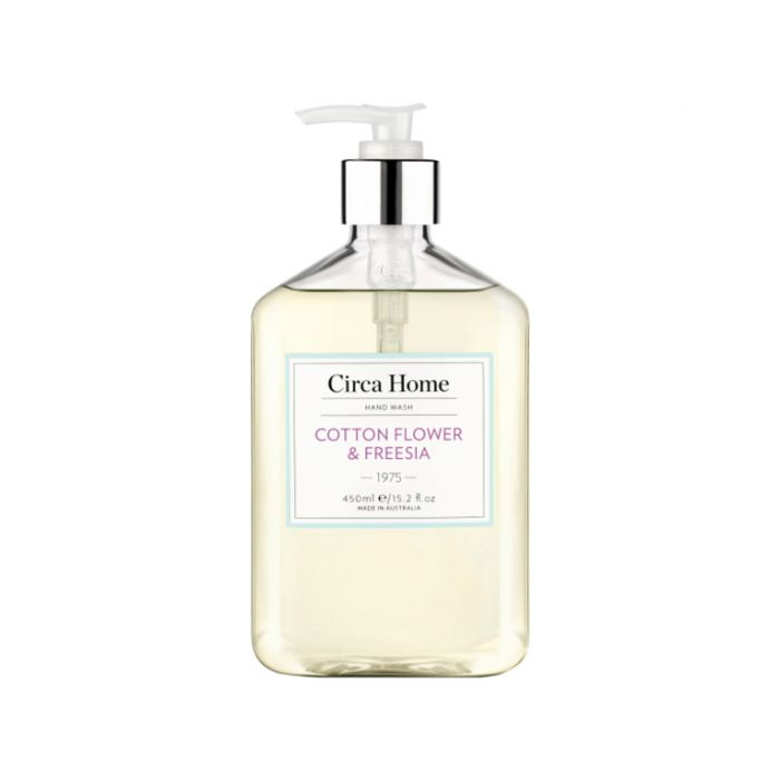 Circa Home  1975 Cotton Flower & Freesia Nourishing Hand Wash 450ml  ] 9338817007181 - Flower Power
