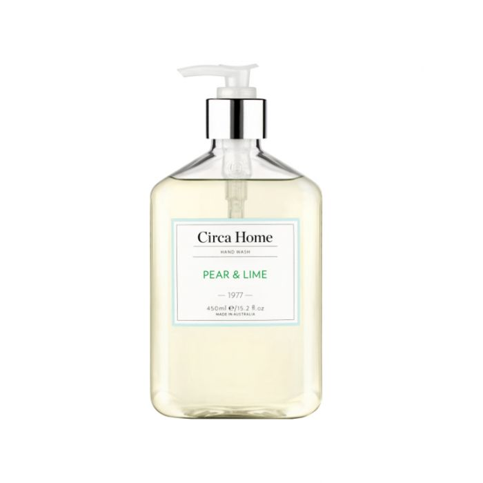 Circa Home 1977 Pear & Lime Nourishing Hand Wash 450ml  ] 9338817007204 - Flower Power
