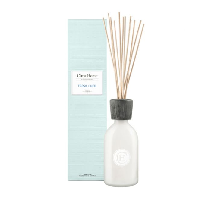 Circa Home 1980 Fresh Linen Fragrance Diffuser 250ml  ] 9338817008454 - Flower Power