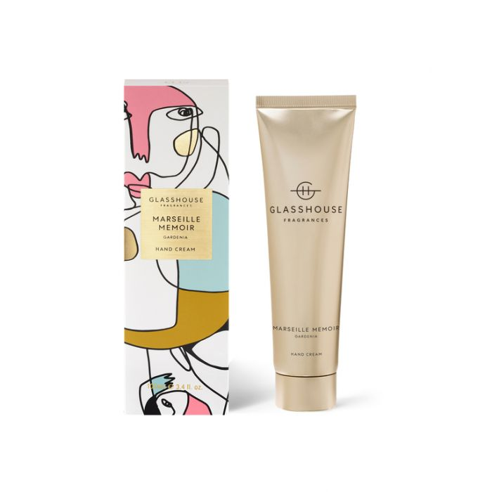 Glasshouse Hand Cream Marseille Memoir  ] 9338817015681 - Flower Power