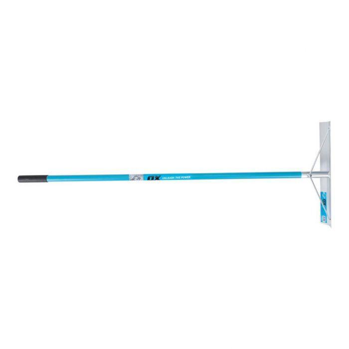 OX Aluminium Concrete Rake  ] 9341231024450 - Flower Power