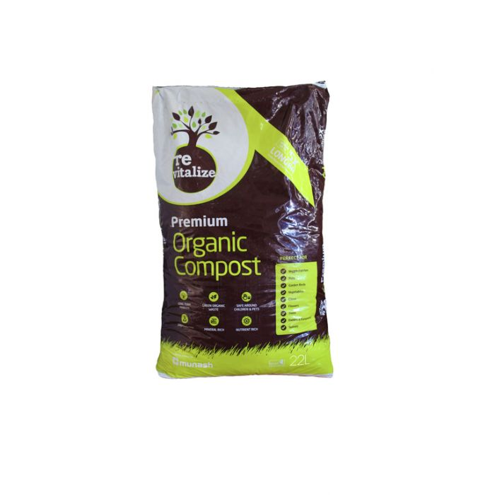 Revitalize Organic Compost  ] 9348998000024 - Flower Power