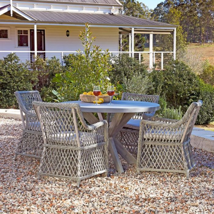 FP Collection Bradshaw Outdoor Dining Chair  ] 181476 - Flower Power