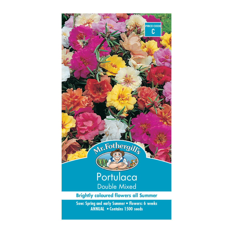 Mr Fothergill's Portulaca Double Mixed