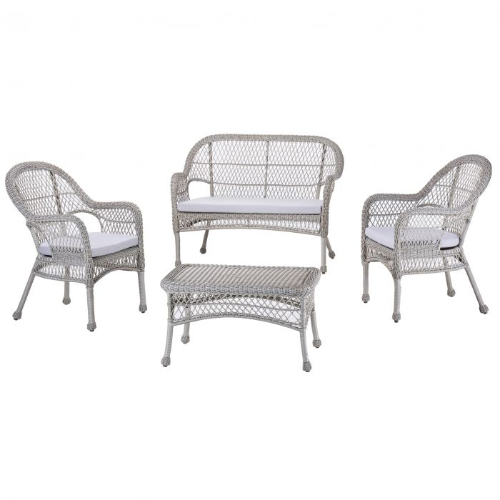 FP Collection Braxton Outdoor Lounge Setting  173039P