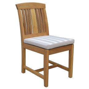 FP Collection Bronte Outdoor Dining Timber Chair