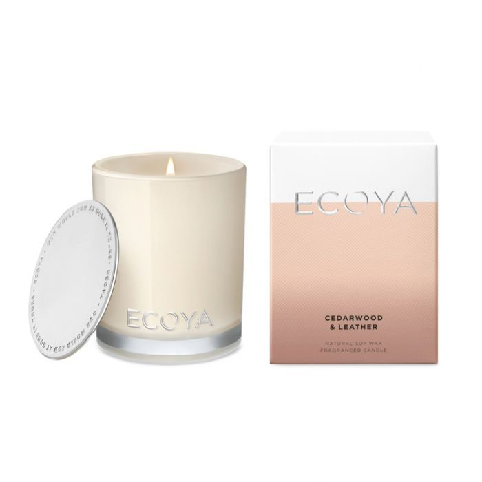 Ecoya cedarwood & Leather Mini Madison Jar  9336022009983