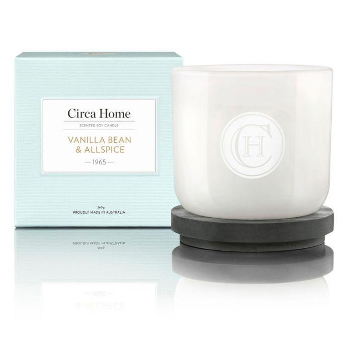 Circa Home 1965 Vanilla Bean & Allspice Classic Candle 260g  9338817002179