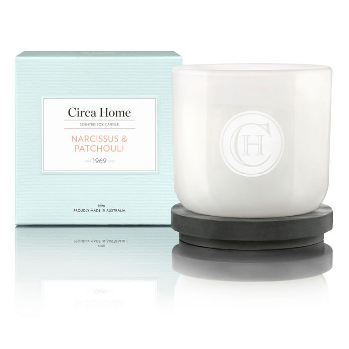 Circa Home  1969 Narcissus & Patchouli Classic Candle 260g  9338817003527