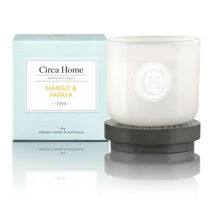 Circa Home 1998 Mango & Papaya Mini Candle 60g  9338817005309
