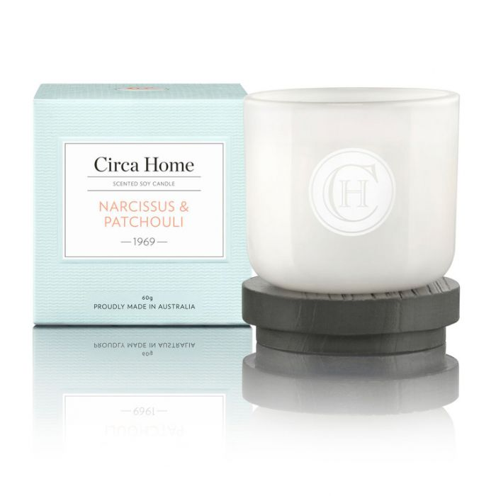 Circa Home  1969 Narcissus & Patchouli Mini Candle 60g  9338817005316