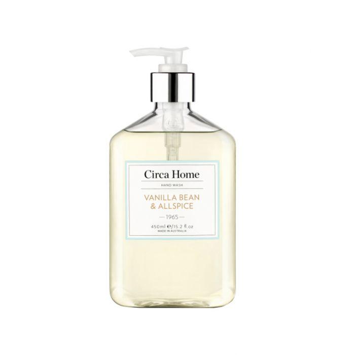 Circa Home 1965 Vanilla Bean & Allspice Nourishing Hand Wash 450ml  9338817007198