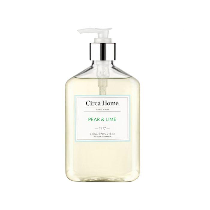 Circa Home 1977 Pear & Lime Nourishing Hand Wash 450ml  9338817007204
