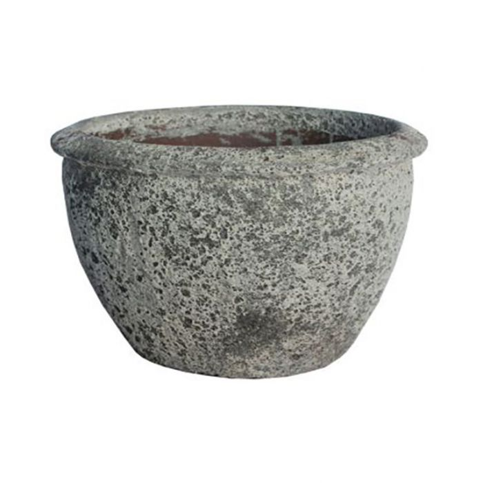 FP Collection Atlantis Round Planter With Lip  169594P