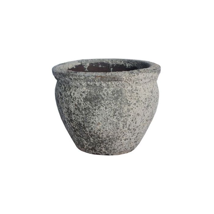 FP Collection Atlantis Drum Planter With Lip  169599P
