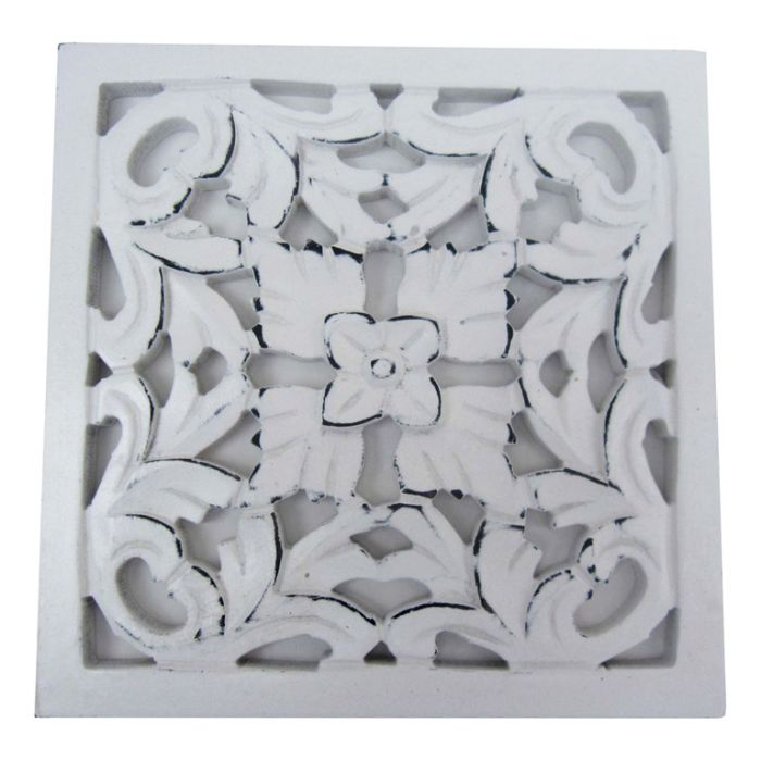 FP Collection Anderson Ornate Hand Carved Timber Wall Art  172006