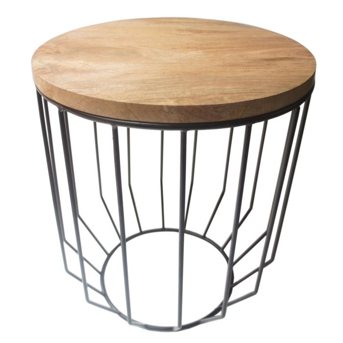 FP Collection Indoor Urban Side Table  176521