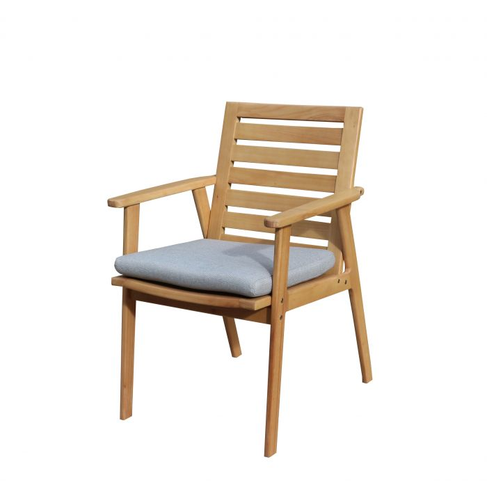 FP Collection Leura Outdoor Dining Timber Chair  177278