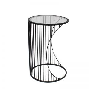 FP Collection Lincoln Side Table