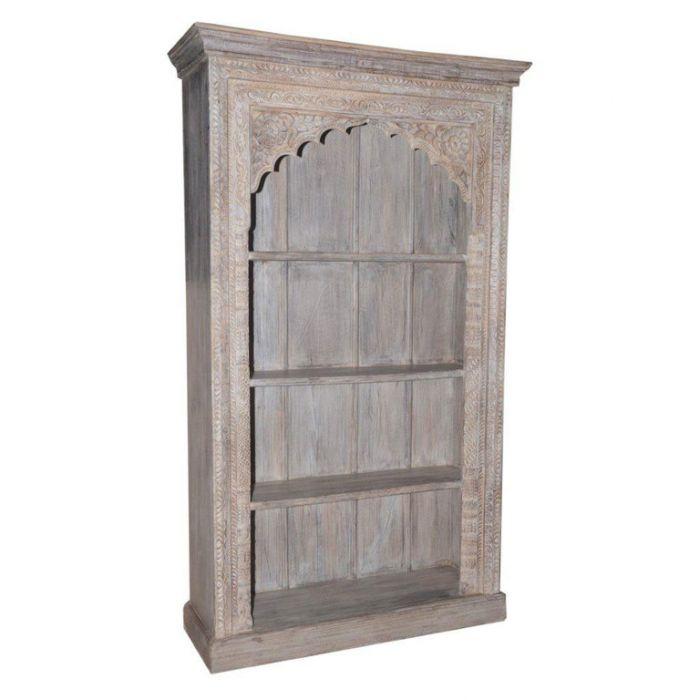 FP Collection Indu Carved Bookshelf  180114