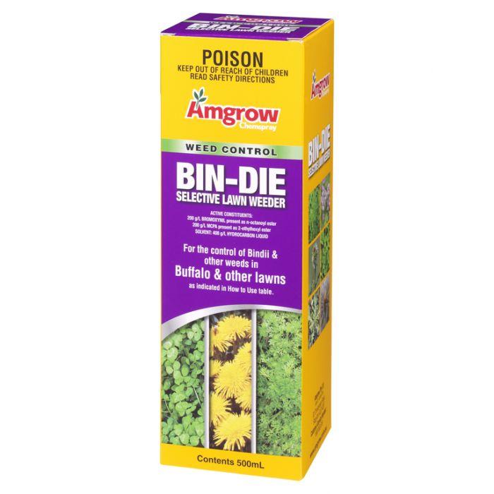 Amgrow Chemspray Bin Die Selective Lawn Weeder 500ml  9310943800188