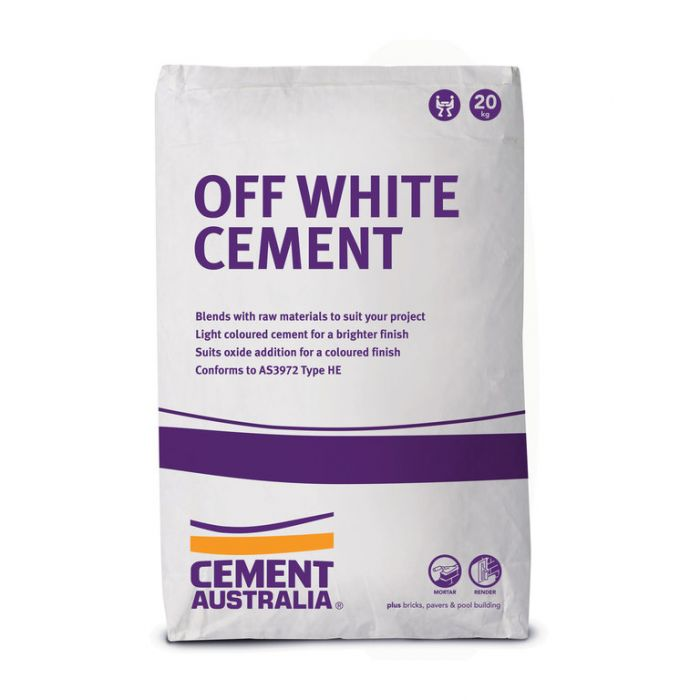 Cement Off White 20kg  9311808022233