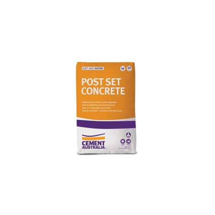 Concrete Post Set 20kg  9311808031563