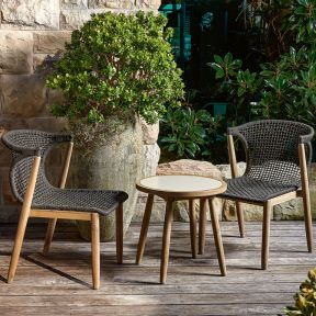 FP Collection Botany Outdoor 2 Seater Balcony Setting