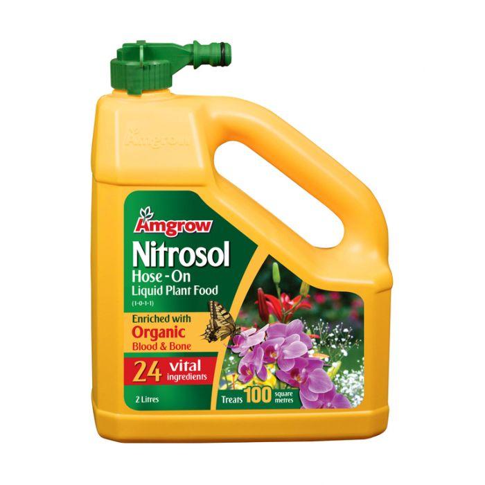 Amgrow Nitrosol Hose-On Liquid Plant Food  9300783001609