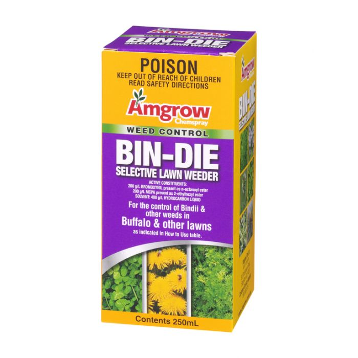 Amgrow Chemspray Bin Die Selective Lawn Weeder 250ml  9310943800157