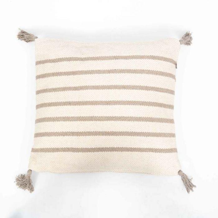 FP Collection Amira Grey Tassle Cushion  177412