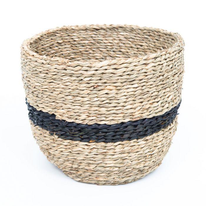 FP Collection Dune Stripe Storage Basket  177788
