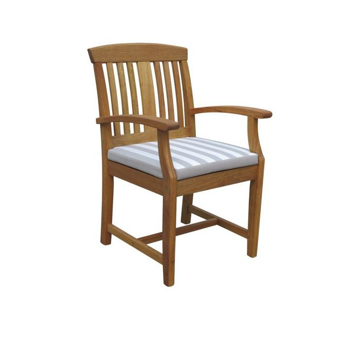 FP Collection Bronte Outdoor Timber Dining Armchair  169535