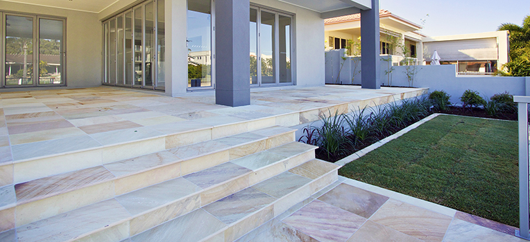 Basque Natural Stone pavers: care and maintenance